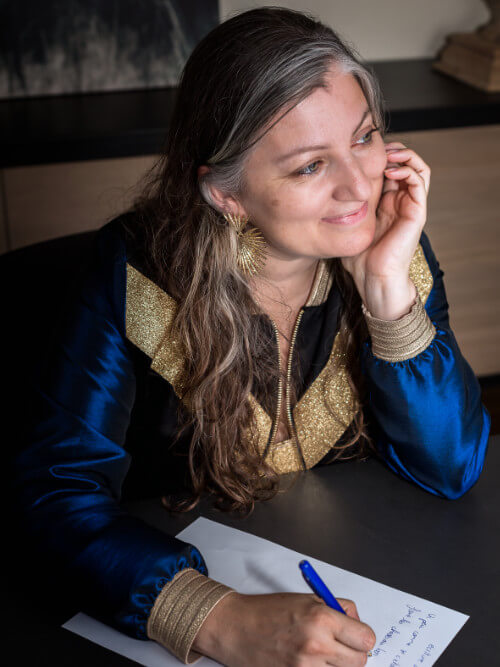 Camille Griselin en atelier devenir auteur